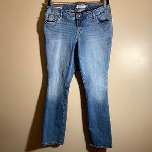 Torrid Barely Boot Blue Denim Jeans size 12R